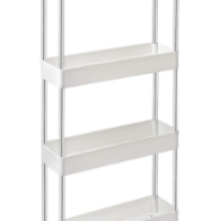 Amazon: Storage-Cart-Slim 4-Tier - 50% off W/Code