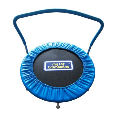"""Walmart: 36"""" My 1st Trampoline with Handlebar, Blue For $25.00"""
