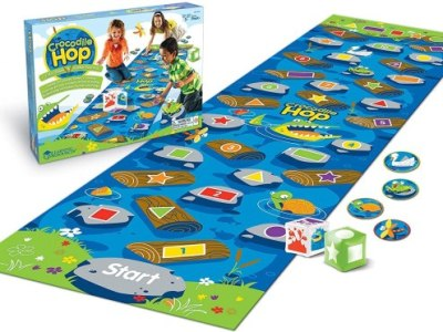 AMAZON: Learning Resources Crocodile Hop Floor Game Only $11.99 (Reg. $40)