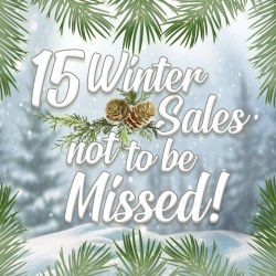 15 Winter Sales Not To Be Missed!