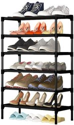 Amazon: 6-Tier Shoe Rack Storage Organizer JUST $13.19 w/code (reg. $23.99)