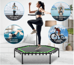 Amazon: ANCHEER Mini Trampoline Trainer for just $50.99 w/multi-use code (Reg. $169.99)