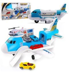 Amazon: Airplane Toys Set with Transport Cargo and 4 Pcs Vehicle Car Toy for $11.89 (Reg. Price $19.99) after coupon!