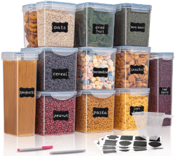 Amazon: Airtight Food Storage Containers for only $25.79 – $38.39 (Reg. $42.99 – $63.99)