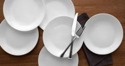 Amazon: Corelle Plates 6-Piece Set Just $16.99 (reg. $26)