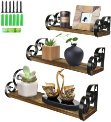 Amazon: Floating Shelves Set of 3 for just $12.99 (reg. $25.99)