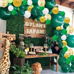 Amazon: Jungle Theme Party Supplies, 136-162 Pcs for only $7.60-$8.40 W/Code (Reg. $18.99-$20.99)