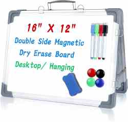 Amazon: UP TO 87% Off Magnetic Whiteboard Double Side (Reg. $34.99) after code!