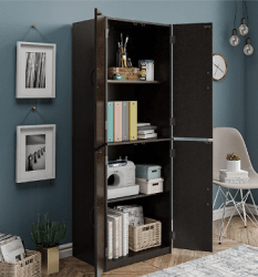 Walmart: Mainstays Storage Cabinet 3 Colors for only $109 + Ships Free (reg. $139)
