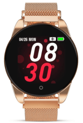 Amazon: Smart Watch Fitness Tracker Rose Gold for just $10.20 W/Code (Reg. $33.99)