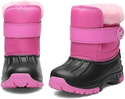 Amazon: Toddler Snow Boots Boys & Girls only $9.45 (reg. $26.99) - 65% off at checkout