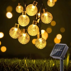 Amazon: 29.5Ft 50 LED Bulbs String Lights for $5.59