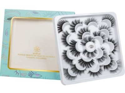 Amazon: 10 Pairs 6D Mink Eyelashes for $3.84 (Reg. Price $9.59) after code!