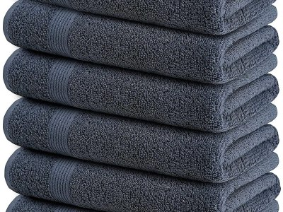 Amazon: 6 Pack Ultra Soft Bath Towels, 24x48 for $23.99