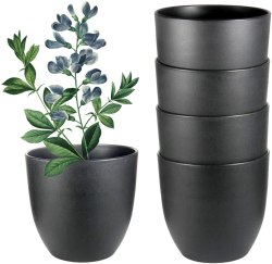 Amazon: 5 Pack  6.3 Inch Plant Pots Indoor for only $8.09 (Reg: $29.99)