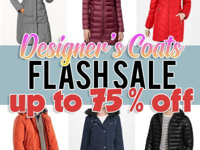 Macy's: Designer's Coats, Flash Sale, up to 70-75% off!