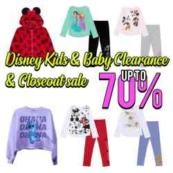 Macy's : Disney Kids & Baby Clearance & Closeout, up to 70% off!