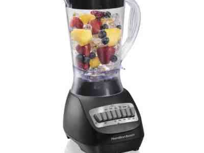 Walmart: Hamilton Beach Smoothie Electric Blender with 10 Speeds, Just $19.96 (Reg $25.00)