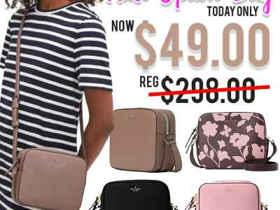 Kate Spade: newbury lane cammie Bags, Just $49.00 (Reg $298.00) TODAY ONLY!