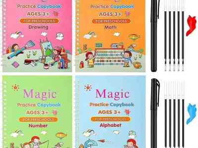 Amazon: Magic Practice Copybook for Kids, Just $9.49 (Reg $16.99) after code!