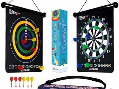 Amazon: Magnetic Dart Board Game with 12Pcs Magnetic Darts for $12.99 (Reg. Price $25.99)