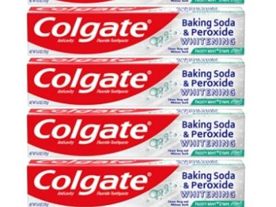 Amazon: Pack of 6 Colgate Peroxide and Baking Soda Toothpaste for $10.02 (Reg. Price $14.94)