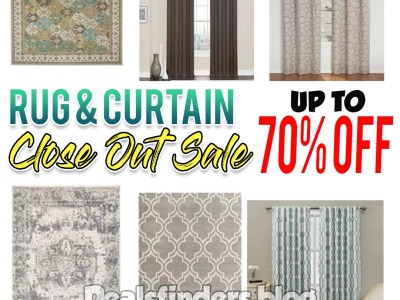 Kohl's: Home Decor, Rugs and Curtains, Up to 70% off!