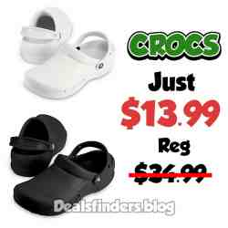Crocs: Specialist Clog, Just $13.99 (Reg $34.99)
