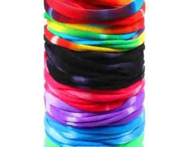 Amazon: 48 PCS Tie-Dye Headband, Just $5.59 (Reg $6.99) at checkout!