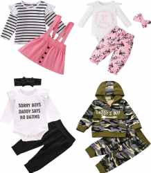 Amazon: Newborn Baby Girl Outfit JUST $7.99 (Reg. $19.99)