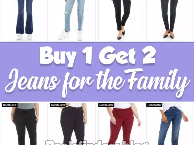Belk: Jeans for the Family, Buy 1 Get 2!