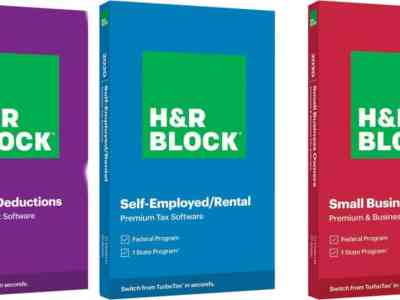 H&R Block Deluxe State Tax Software for only $16.99 (Reg: $45)