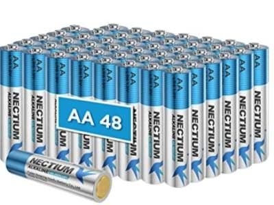 Amazon: 48 Count AA Alkaline Batteries for $14.99 (Reg. Price $24.99) after code!