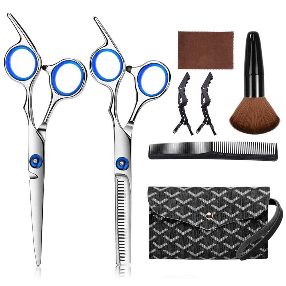 Amazon: 7 Pcs Stainless Steel Hairdressing Shears Set, Just $10.79 (Reg $26.98) after code!