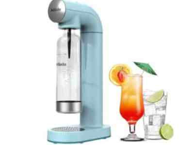 Amazon: AirSoda Carbonator – Sparkling water Maker for $59.99 (Reg. Price $119.99) after coupon!