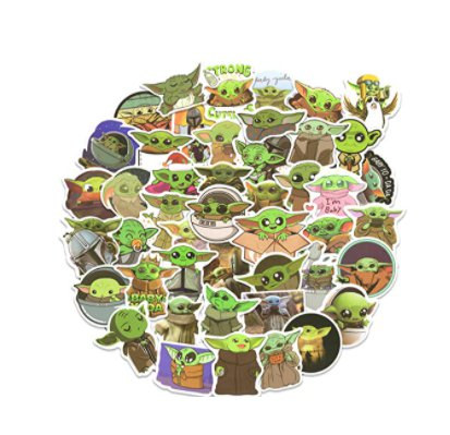 Amazon: Baby Yoda Stickers 50 pcs for $2.99 (Reg. Price $5.99) after code!