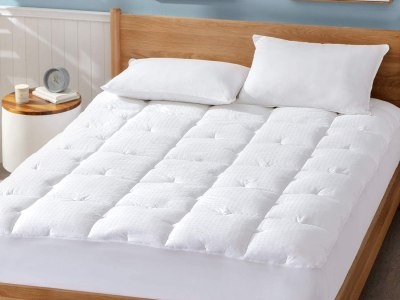 Amazon: Bedsure Cotton Mattress Pad, Just $29.99 (Reg $49.99) after code!