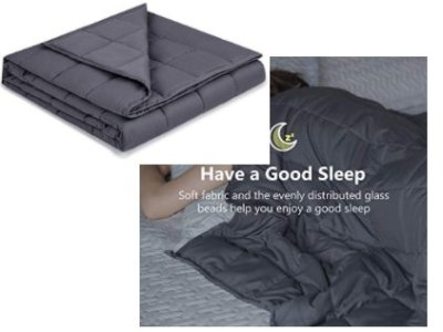 Amazon: Cooling Weighted Blanket, 15Lbs for $20.09 (Reg. Price $66.99) after code and coupon!