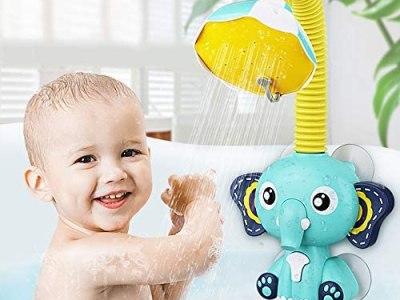 Amazon: Cute Elephant Bath Toy, Just $13.99 (Reg $27.99) after code!