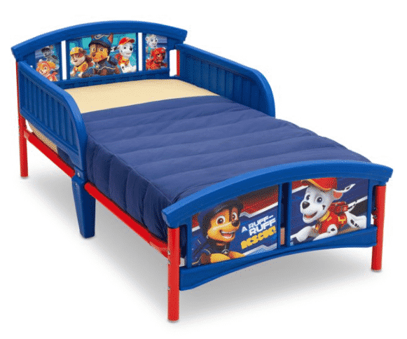 Walmart: Delta Children Nick Jr. PAW Patrol Plastic Toddler Bed for $56.24 (Reg. Price $64.99)