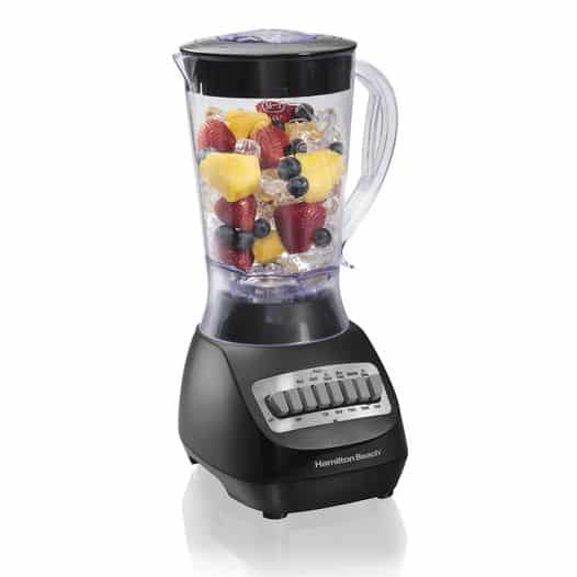 Walmart: Hamilton Beach Smoothie Electric Blender with 10 Speeds, 56 oz., Just $19.96 (Reg $25.00)