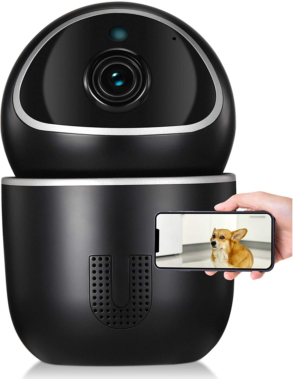 Amazon: UCAM 1080P Blockchain Technology Home Security Camera, Just $22.49 (Reg $49.99) after code and coupon!