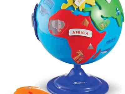 Amazon: Learning Resources Puzzle Globe for $13.49 (Reg.Price $34.99)