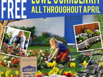 Get Free Lowe's Garden Kits All Throughout April Month!