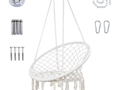 Amazon: Macrame Swing Chair, Just $55.49 (Reg $69.99) after code!