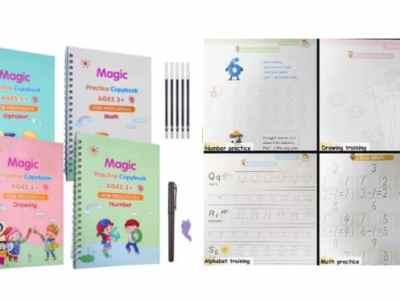 Amazon: Magic Practice Copybook Set for $8.99 (Reg. Price $12.99)