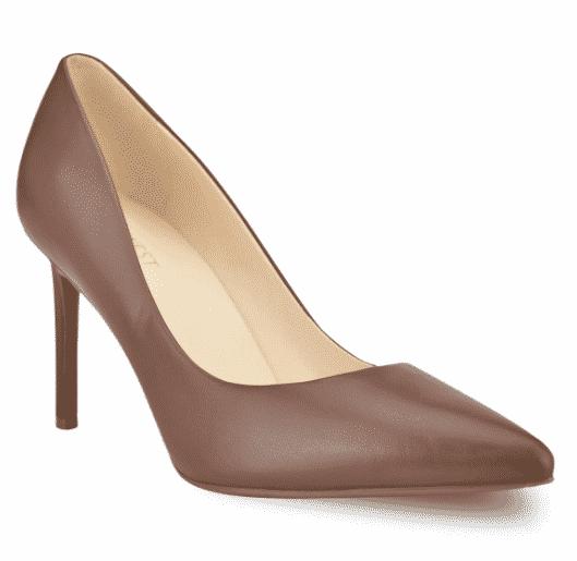 Kohl's: Nine West Etta Women's Leather High Heels for $34.99 (Reg. Price $69.99)