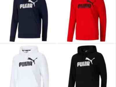 Ebay: PUMA Men's Essentials Big Logo Hoodie, Just $19.99 (Reg $45.00)