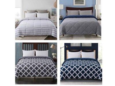 Amazon: Reversible Down Alternative Comforter for $20.40-$36.00 (Reg. Price $50.99-$89.99)
