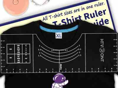 Amazon: Tshirt Ruler Guide for Vinyl Alignment, Just $11.99 (Reg $19.99) after code!